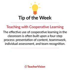 TeacherVision Tip of the Week: Teaching With Cooperative Learning