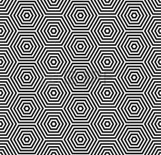 Textura de hexágonos. Patrones geométricos transparente.  Foto de archivo