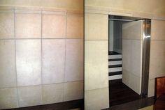 secret door in tile wall - Creative Home Engineering