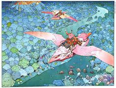 Here´s some Moebius wallpapers for ya - Imgur