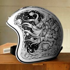 Awesome helmet design. Helmet Paint Designs by The VNM