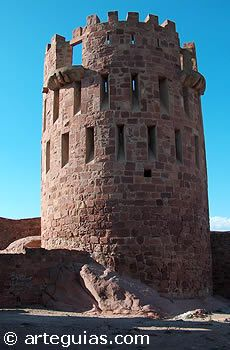 Torre del castillo de Vilafamés, Castellón de la Plana, España