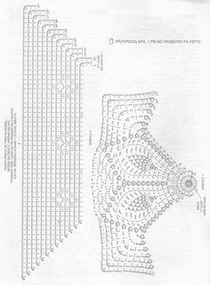 gráfico almofada de crochê barbante 5