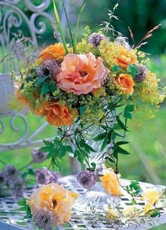 Beautiful Flower Arrangements, Fresh Flowers, Floral Arrangements, Beautiful Flowers, Flower Centerpieces, Flower Decorations, Ideas Prácticas, Language Of Flowers, Flower Pictures