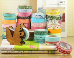 Lisa Spanglers lists of places to buy Washi tape!