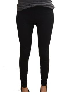 YogaColors Emoticon Thick Knit Stretch Legging for $38.00