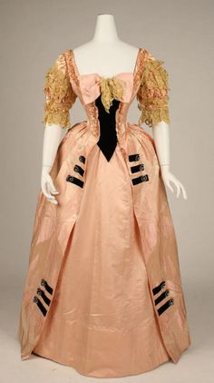 Jacques Doucet ball gown ca. 1897 via The Costume Institute of the Metropolitan Museum of Art