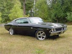 69 Chevelle SS - mine had black rims