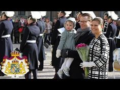 Youtube:  Kungahuset-Swedish Royal Family Channel-Short video of Crown Princess Victoria's name day March 12, 2014-Crown Princess Victoria, Prince Daniel and Princess Estelle
