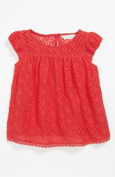 Pumpkin Patch Lace Top (Toddler) available at Nordstrom