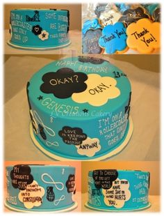 The Fault in our stars cake!