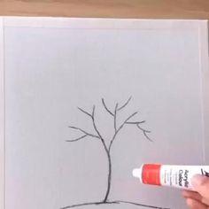 Magnificent piece via Wow Art Canvas Painting Tutorials, Diy Canvas Art, Acrylic Painting Techniques, Wow Art, Cool Art Drawings, Pencil Art Drawings, Art Painting Gallery, Acrylic Art, Art Techniques