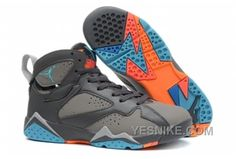 Buy Discount Releases Air Jordan 7 Retro GS Barcelona Days Dark Grey/Turquoise Blue Wolf Grey Total Orange Mens Shoes Online For Sal from Reliable Discount Releases Air Jordan 7 Retro GS Barcelona Days Dark Grey/Turquoise Blue Wolf Grey Total Orange Mens Air Jordans, Jordans Girls, New Jordans Shoes, Jordans For Men, Nike Shoes, Cheap Jordans, Mens Shoes Sale, Mens Shoes Online, Shoes Men