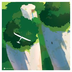 Drawing Sky, Sky Adventure, Concept Draw, Environment Design, 2d Art, Environmental Art, Fantastic Art, Traditional Art, Dungeons And Dragons