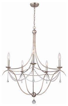 Metro II Chandelier - Large - transitional - chandeliers - Masins Furniture