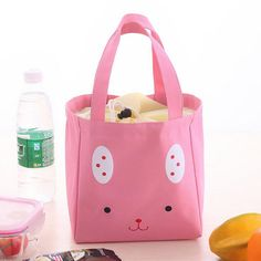 Portable Thermal Insulated Cooler Pouch Lunch Bag Storage Box Picnic Carry Tote