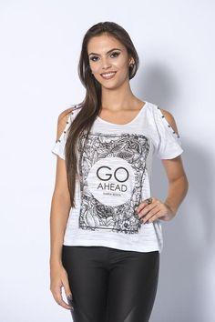 T-shirt go ahead maria benta