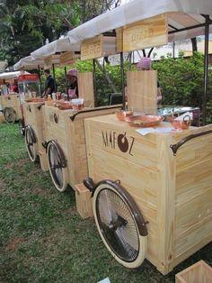 Food Inspiration  carrinho degustação  Google Search
