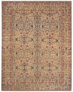 LAVER KIRMAN - Southeast Persian 7ft 10in x 9ft 7in 2nd Quarter, 19th Century
