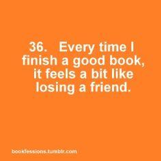 I always feel like this!