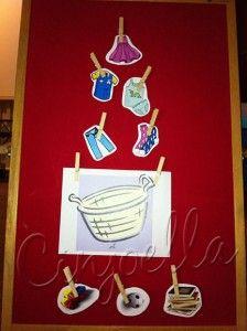 Literacy Game: Laundry Basket