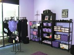 Dancewear  area ideas
