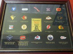 Kijiji - Buy, Sell & Save with Canada's Local Classifieds Stanley Cup Champions, Pin Collection, Nhl, Unique Gifts, Gift Ideas, Frame, Sports, Cards, Vintage