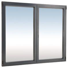 Right anthracite gray aluminum window L. 40 x H. Double Vitrage, Decoration, Mirror, Bathroom, Furniture, Home Decor, Home, Decor, Washroom