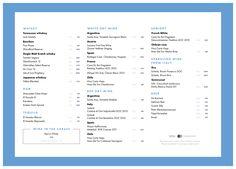 Fair Finch Coffee restaurant bar menu by Restoranskie.