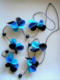 Mariposas azules by _marilu_, via Flickr