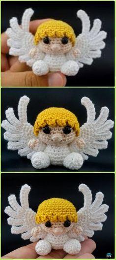 Little Amigurumi Crochet Angel Free Pattern - Crochet Angel Free Patterns