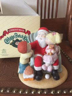 Vintage Christmas Cabbage Patch Kids. Fine Porcelain. Buy Three Items and receive a discount! #cybermonday #happycybermondayFigurine