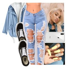 """Untitled #37"" by aaliyah-marie1 ❤ liked on Polyvore featuring Vans"