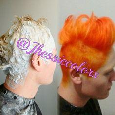 Orange Hair style ✂ 🌹 @yokohannakamikaze #curitibahair #curitiba360 #curitibacool #curitilover #ruivo #OrangeHair #exoticcolors #keune #keunecolor  #cabelodossonhos #ruivodivo #escovamodelada #happy #hair #joy #good #nails #beautiful #beauty #acobreado #cobre #ruivas #cwb #hairadvisor #exoticcolors #cabeloscoloridos #laranja #naranja #oquefazeremcuritiba #curitibaalternativa