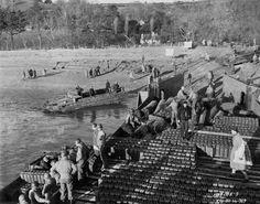 DUKW Amphibious on Slapton Sands, England, Pre-D-Day training 1944.
