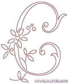 Maripê: Para bordar monogramas