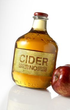 package redesign - cider. Lovely packaging. Authentic and eye catching.