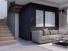 Projekt domu Alicja N 2G+ 138,55 m2 - koszt budowy 248 tys. zł - EXTRADOM House Outside Design, House Design, Design Case, Home Fashion, Home Projects, House Plans, Villa, New Homes, Construction