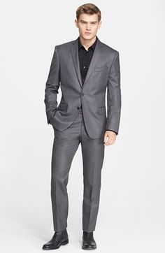 Versace Collection Trim Fit Wool Suit available at #Nordstrom