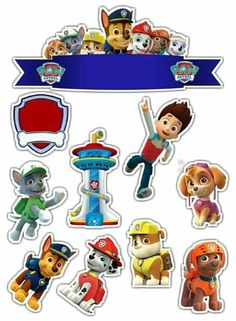 Щенячий патруль (com imagens) Paw Patrol Birthday Cake, Paw Patrol Cake, Paw Patrol Party, Imprimibles Paw Patrol, Paw Patrol Stickers, Cumple Paw Patrol, Paw Patrol Coloring Pages, Friend Cartoon, Homemade Stickers
