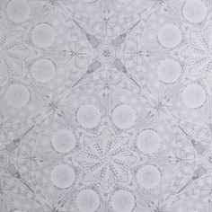 'Musical Mandala Wallpaper by Flavor Paper. @2Modern'