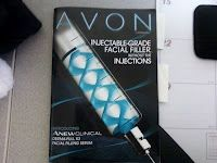 Avon obviously highest bidder for the T-Virus from Resident Evil. Maybe Avon ladies really ARE zombies...