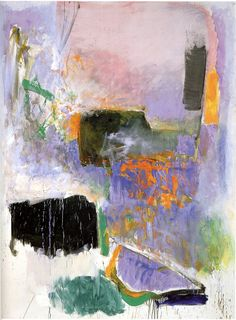 Joan Mitchell - Mooring, 1971 | Flickr - Photo Sharing!                                                                                                                                                                                 More