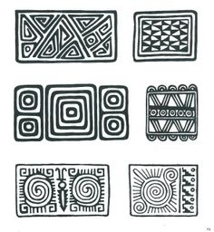 Sampling of Pre-Colombian Incan Symbols Arte Tribal, Aztec Art, Pattern Art, Pattern Design, Inca Art, Colombian Art, Ethnic Patterns, Indigenous Art, Zentangle Patterns