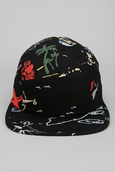 Stussy Map Print 5-Panel Hat #urbanoutfitters