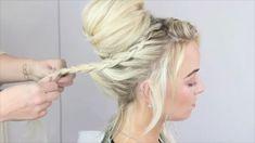 Infinity Braid, Dutch, Braids, Hair, Instagram, Short Hair, Hair Updo, Bang Braids, Cornrows