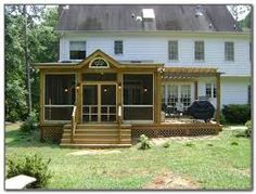 Image result for screened porch plans