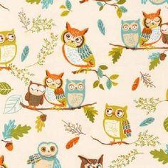Fat Quarter Forest Fellows Nature Owls 100% Cotton Quilting Fabric Antique White Robert Kaufman http://www.amazon.co.uk/dp/B015JHMX9Y/ref=cm_sw_r_pi_dp_Rff.vb0NFMZY3