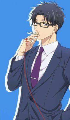 Hirotaka Nifuji x Narumi Momose / Wotaku ni Koi wa Muzukashii M Anime, Anime Nerd, Hot Anime Guys, Cute Anime Boy, Cute Anime Couples, Otaku Anime, Anime Love, Kawaii Anime, Koi