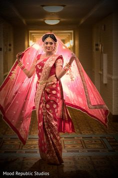 Traditional Bengali and Punjabi Fusion Wedding in New York